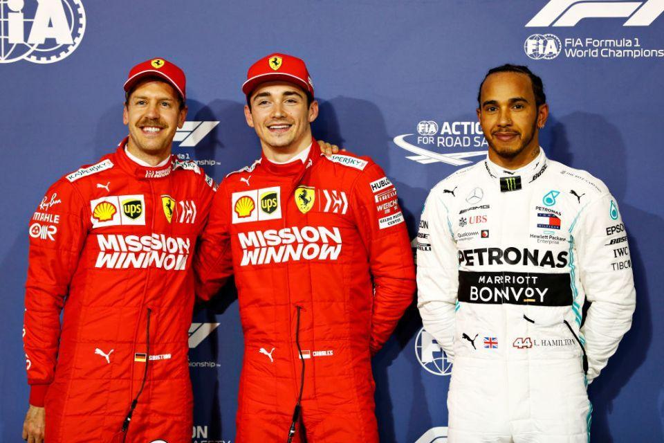 Ferrari's Charles Leclerc takes first Formula One pole in Bahrain