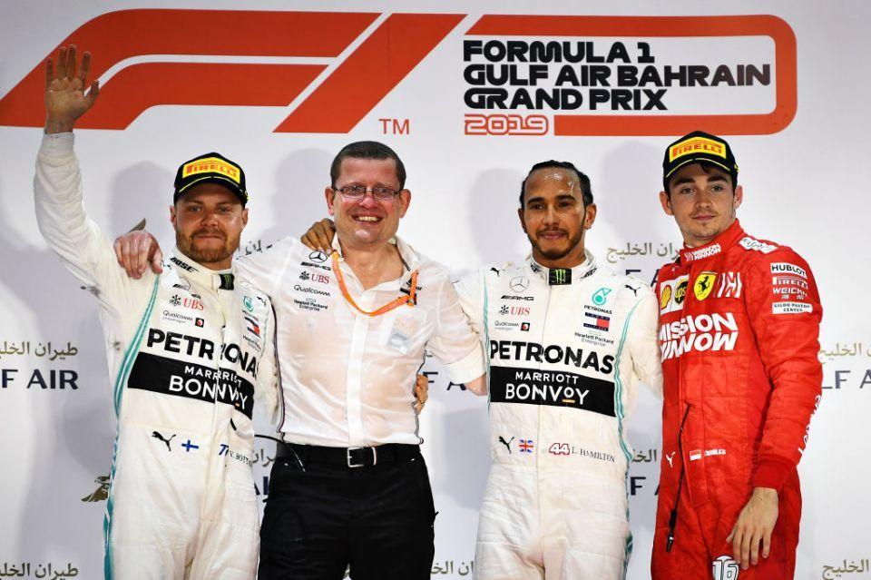 Hamilton wins Bahrain Grand Prix as Leclerc suffers heartbreak