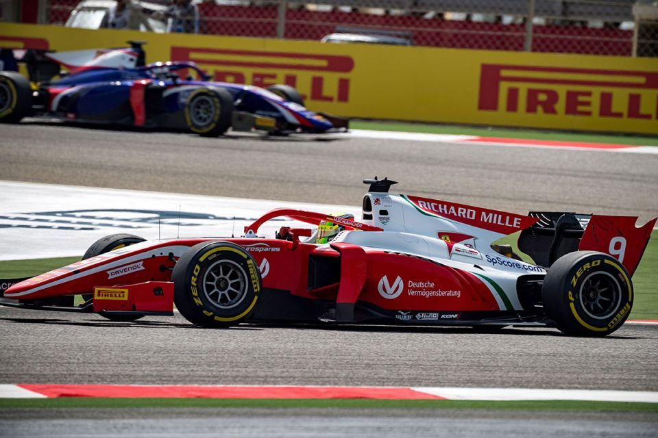 Mick Schumacher 8th on F2 debut in Bahrain