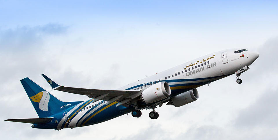 Oman Air cancels 300 flights amid ongoing Boeing 737 Max suspension