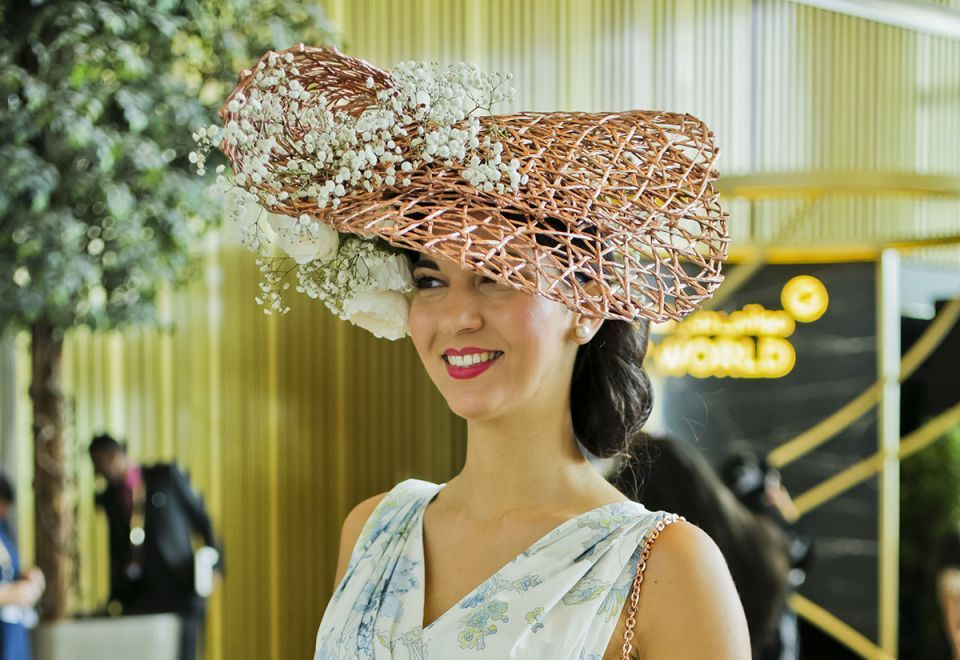 In pictures: Best hats at Dubai World Cup 2019