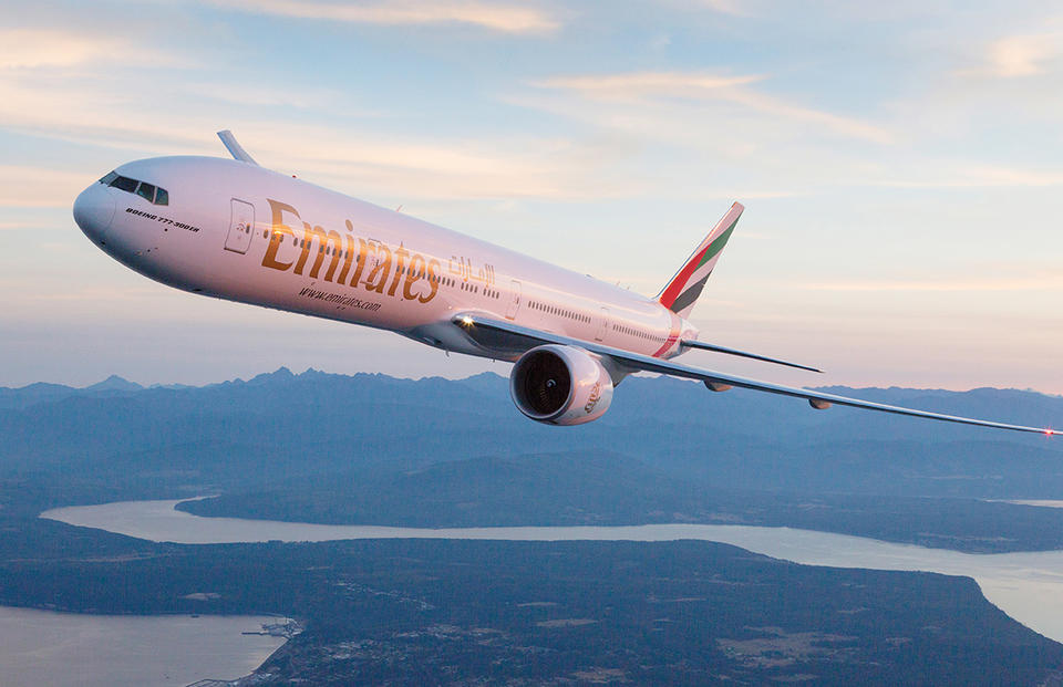 Emirates flight to Manchester rerouted after passenger falls ill