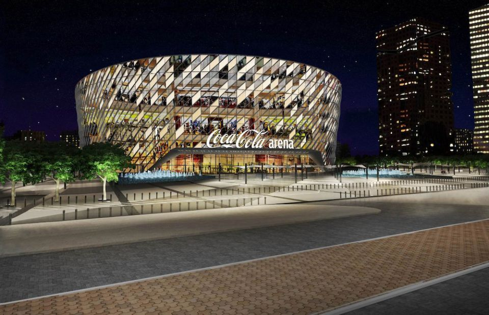 Dubai Arena signs ten-year naming rights deal with Coca-Cola