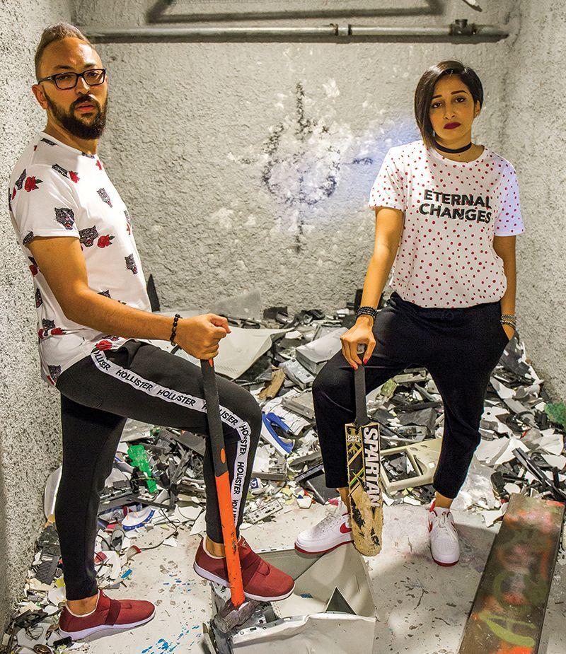 The Smashroom: Hiba Balfaqih and Ibrahim Abudyak