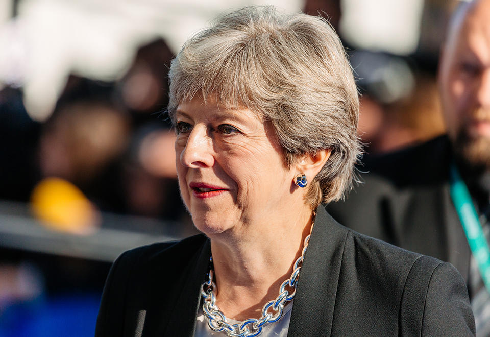 Former UK PM Theresa May to deliver keynote address at Global Woman's Forum Dubai 2020