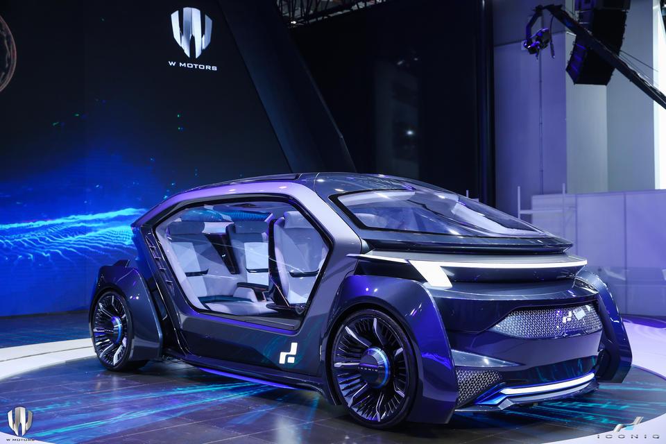 Dubai's W Motors unveils Muse autonomous car in Shanghai