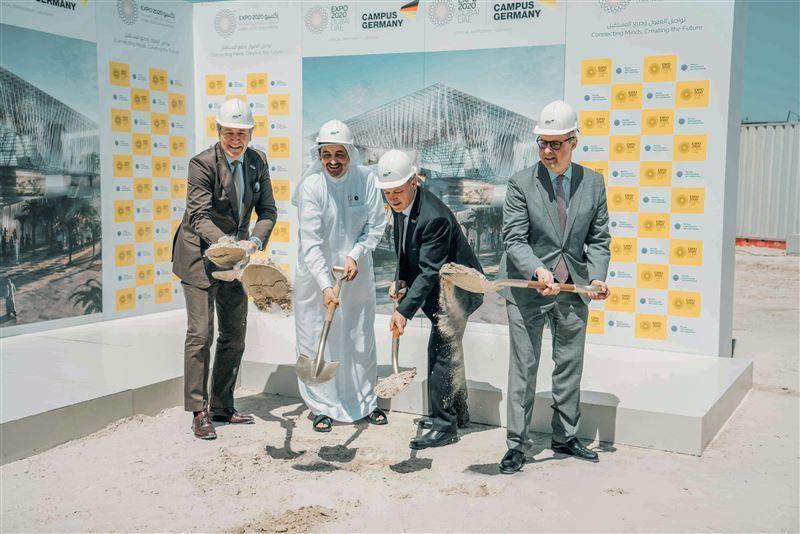 Construction starts on German pavilion at Dubai Expo 2020