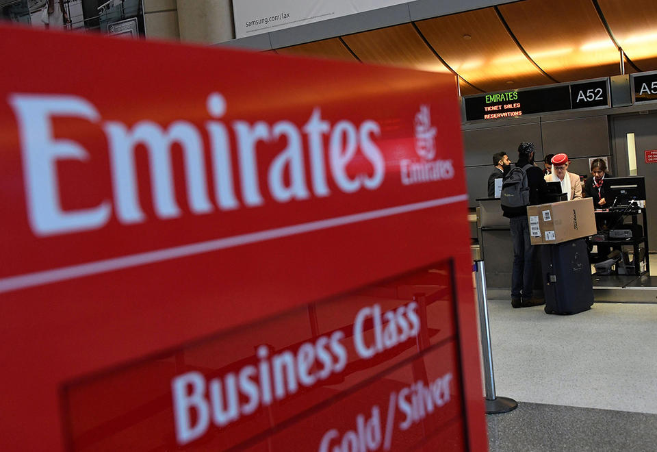 Emirates' Tokyo flight delayed by Typhoon Faxai