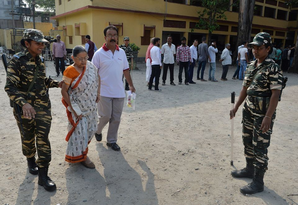 In pictures: Voting begins in second phase of the India's election 2019