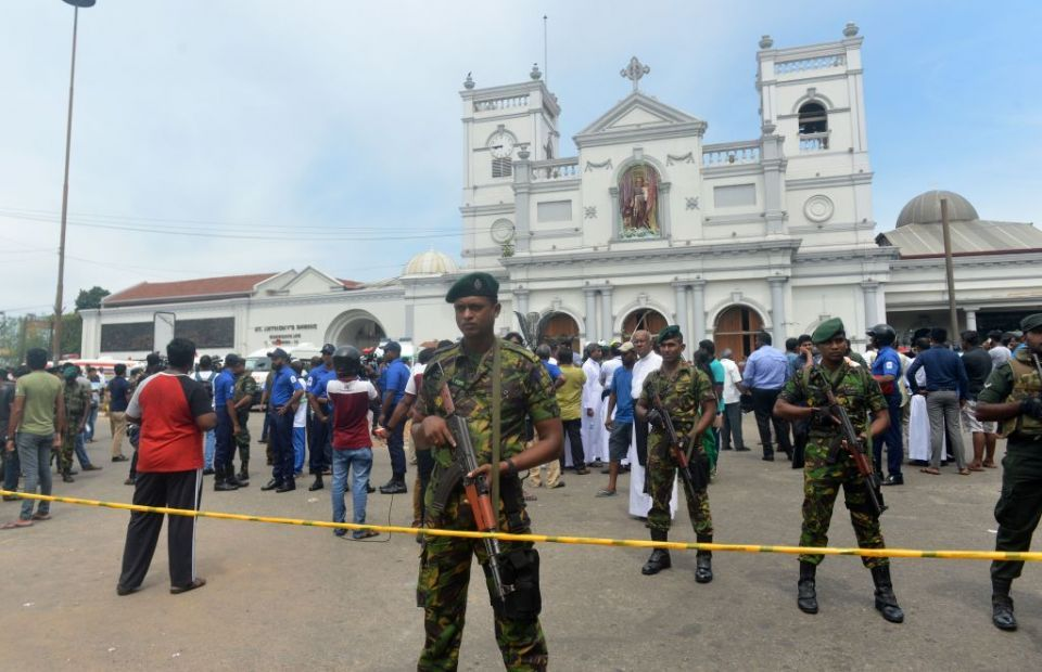 In pictures: Sri Lanka blasts kills 290 at churches and hotels