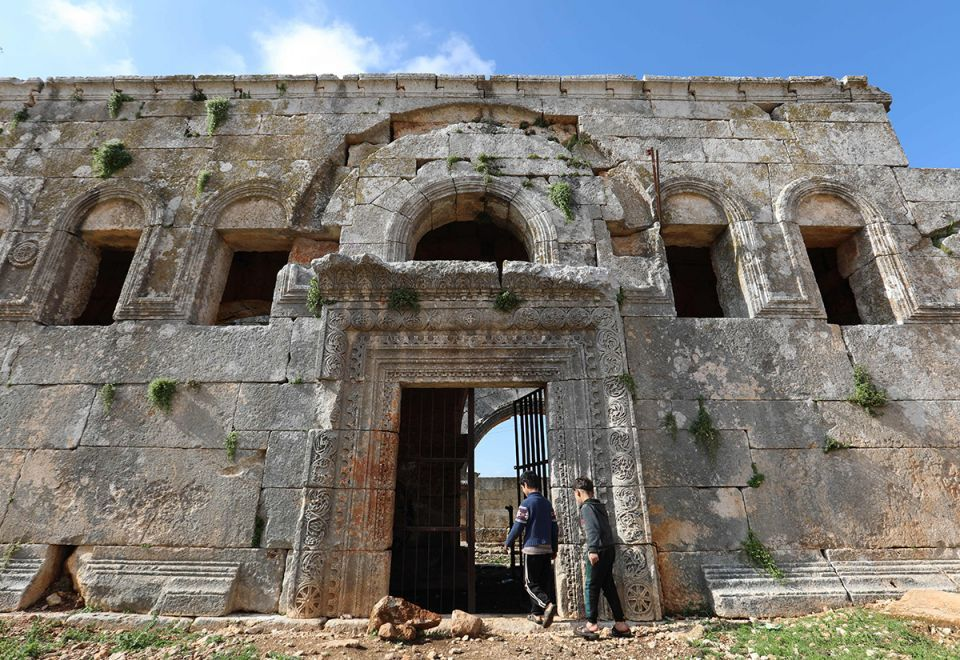 In pictures: Syria's Qalb Lozeh 5th century church that influenced France's Notre-Dame architecture