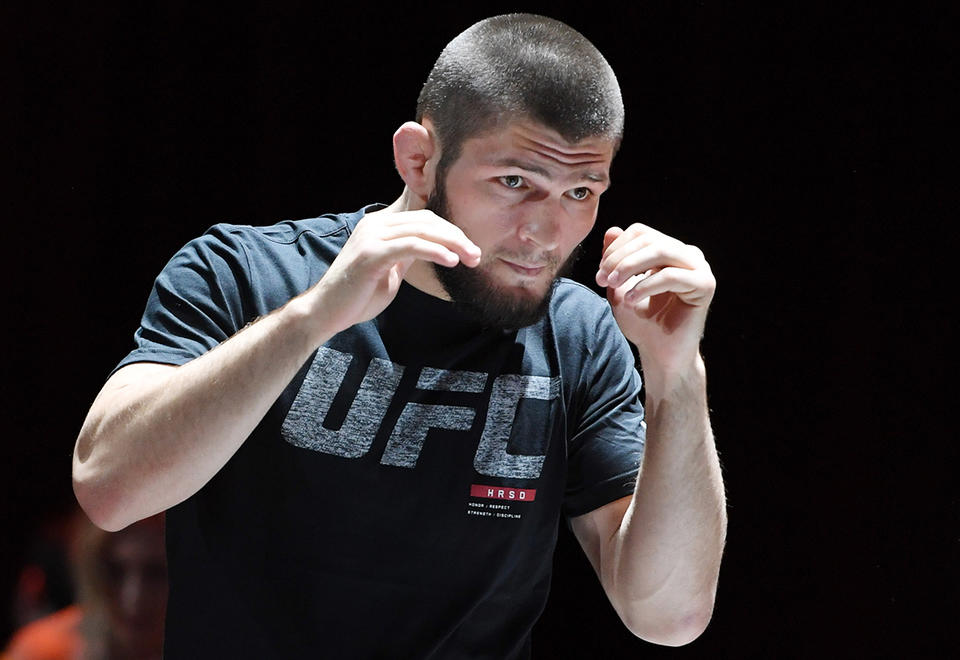 Abu Dhabi signs five-year deal to host UFC title fights