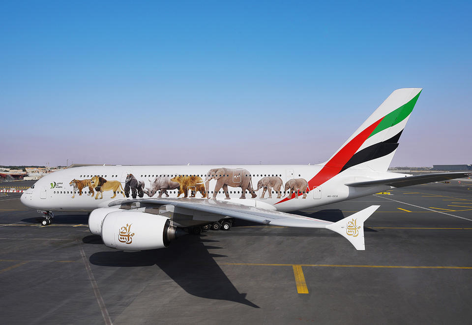Gallery: Emirates' support for Earth Day