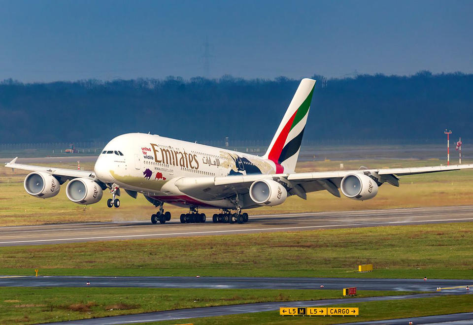 Emirates maps out a new route network without the A380