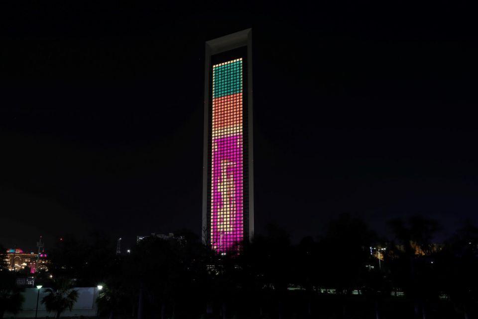 Abu Dhabi landmarks lit up in tribute after Sri Lanka terror attacks