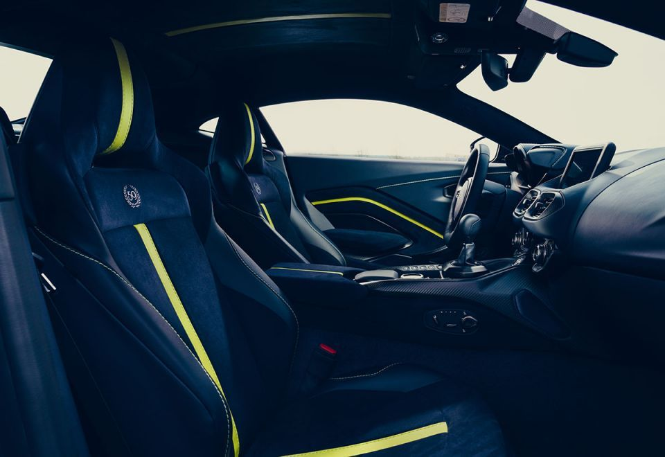 Gallery: Aston Martin revealed Vantage AMR with manual transmission