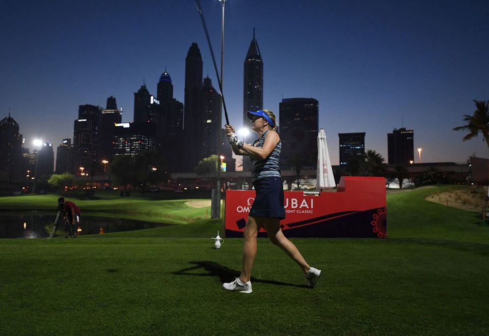 Gallery: World's first professional day-night golf tournament in Dubai