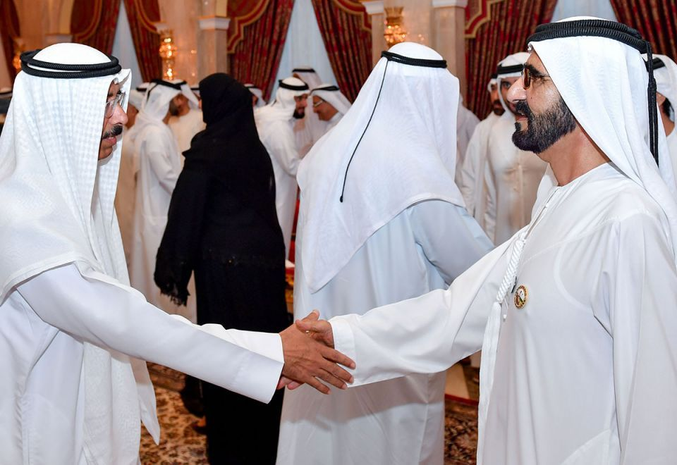 In pictures: Sheikh Mohammed receives Ramadan well-wishers