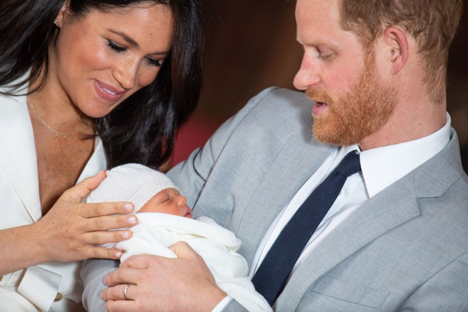 Gallery: Prince Harry and Meghan introduce royal boy Archie to the world