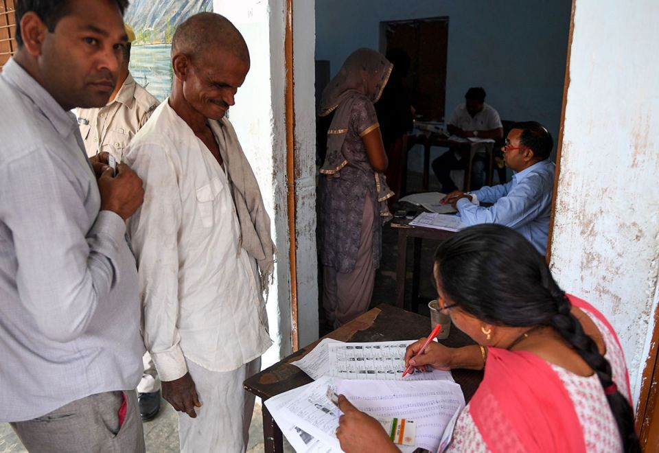 Gallery: Voting underway in 59 parliamentary seats