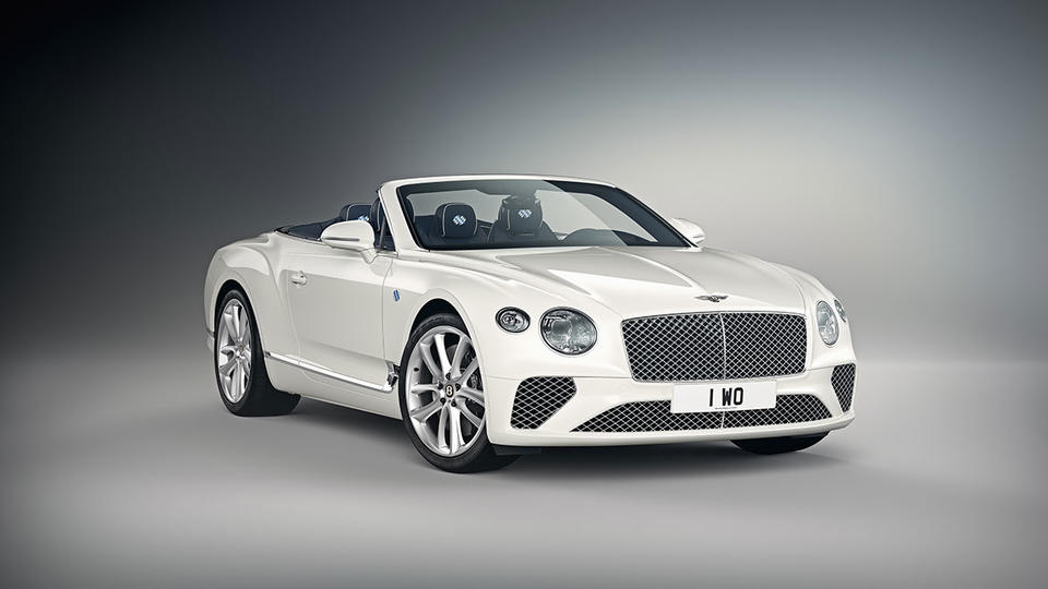 Gallery: Bavaria-themed Bentley Continental GT Convertible by Mulliner