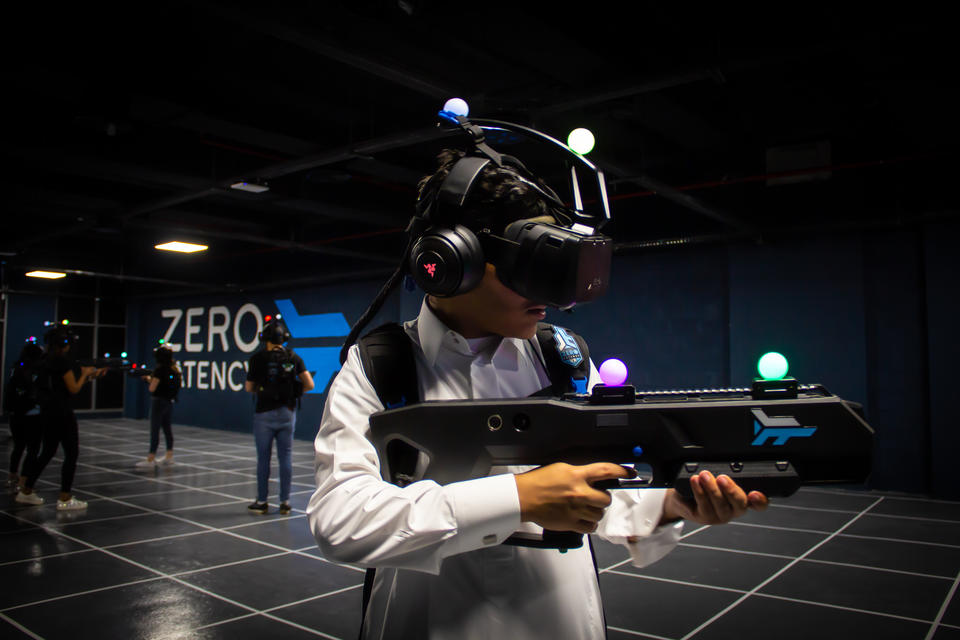 Saudi Arabia opens first VR gaming hub amid entertainment push