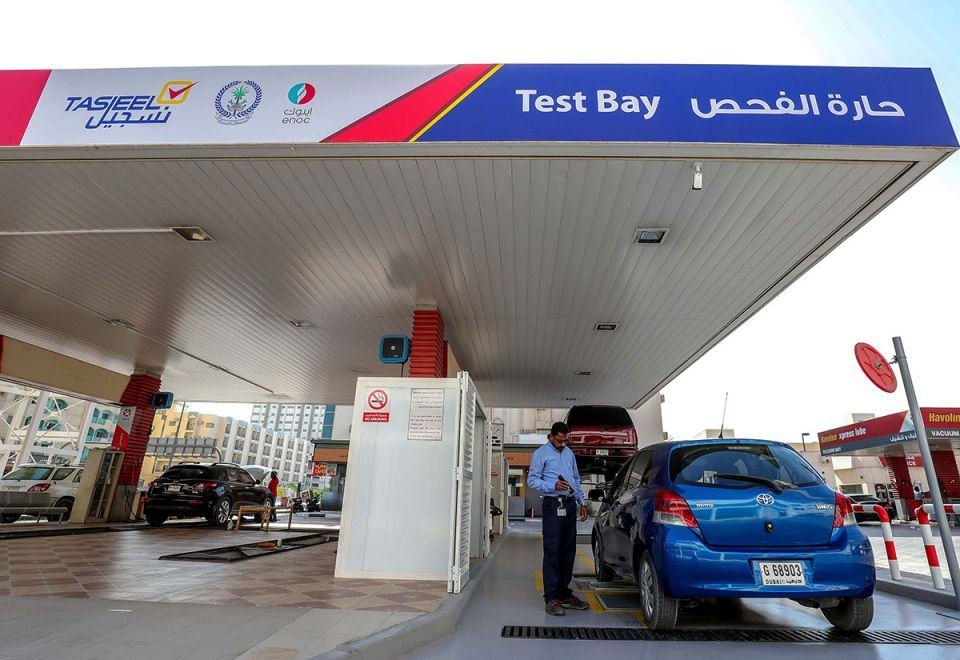 Renew vehicle registration in Dubai without paying fines