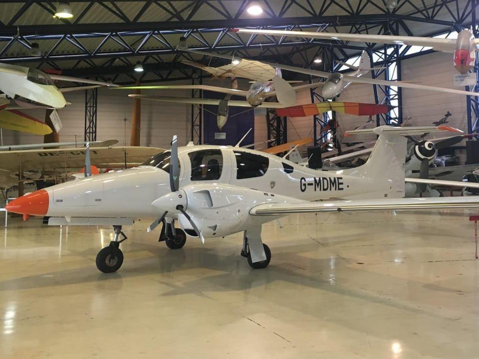 Former RAF Wing Commander named as Dubai plane crash victim