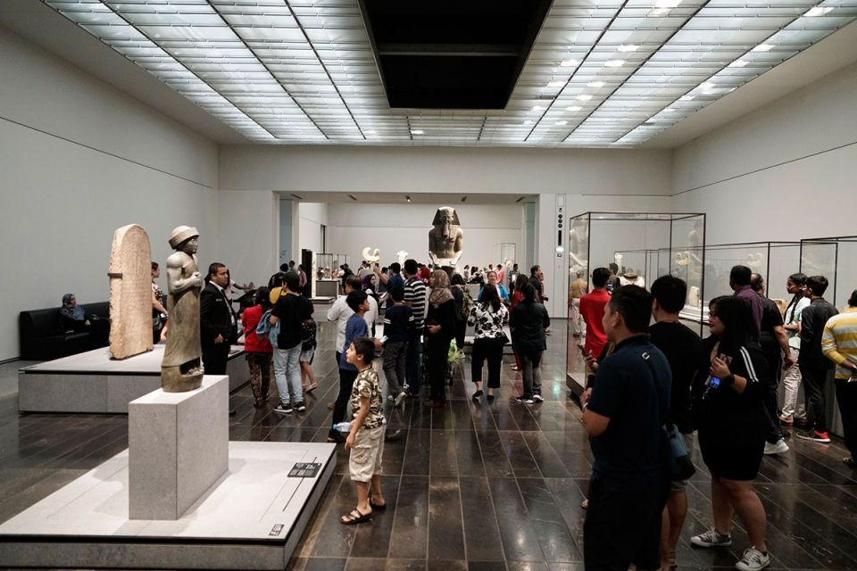 Thousands throng to Louvre Abu Dhabi for International Museum Day
