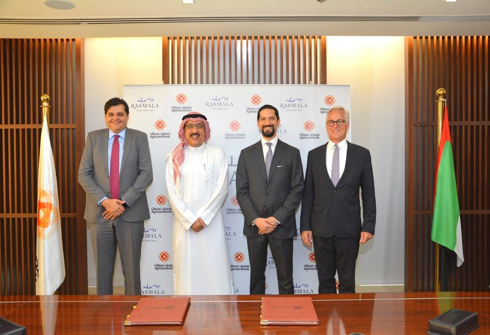 Ajman Bank, Rasmala ink $90m deal for UAE real estate portfolio