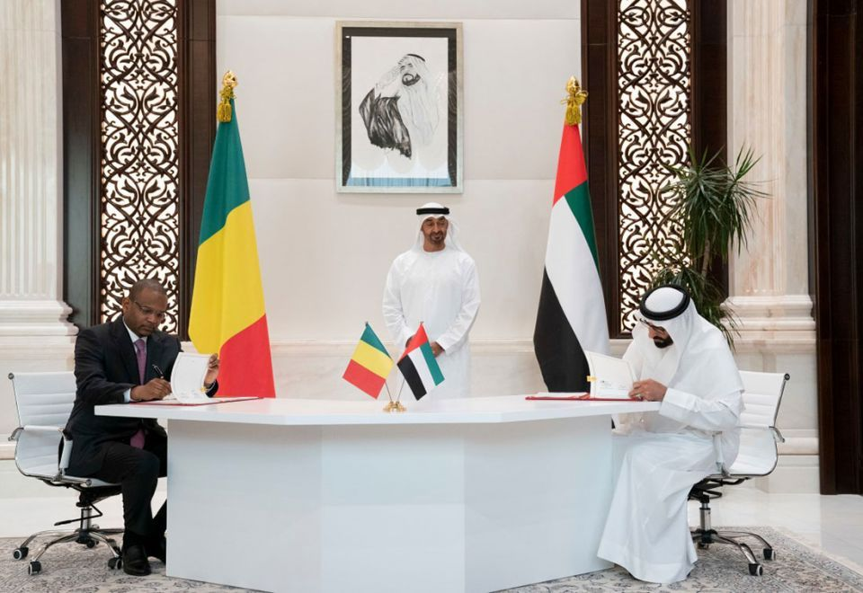 Gallery: Mohamed bin Zayed receives Mali Prime Minister