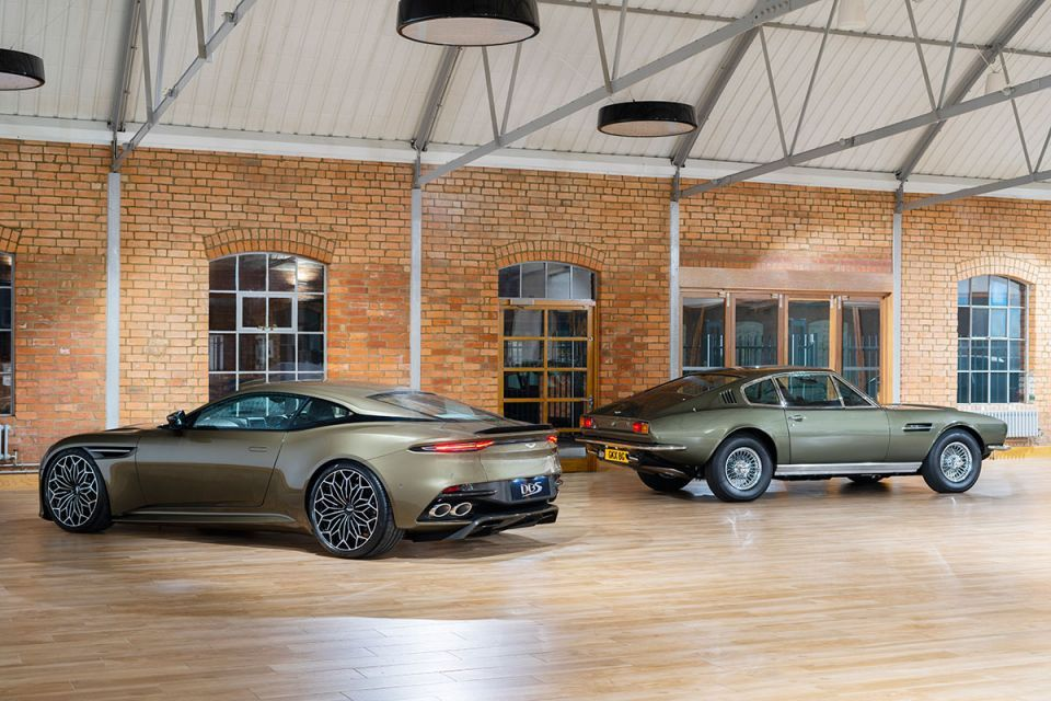 Gallery: Newest Aston Martin DBS Superleggera James Bond special edition