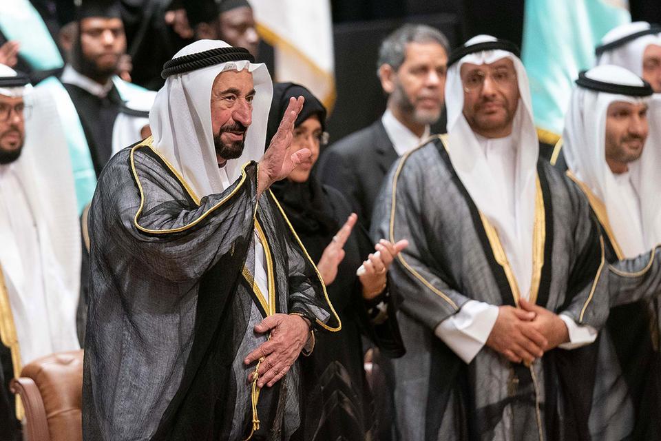 Gallery: Ruler of Sharjah attends graduation ceremony of Al Qasimia University