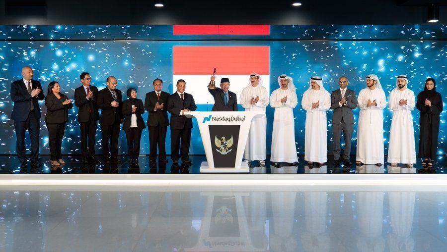 Indonesian Government celebrates listing two green Sukuk totalling $2bn on Nasdaq Dubai