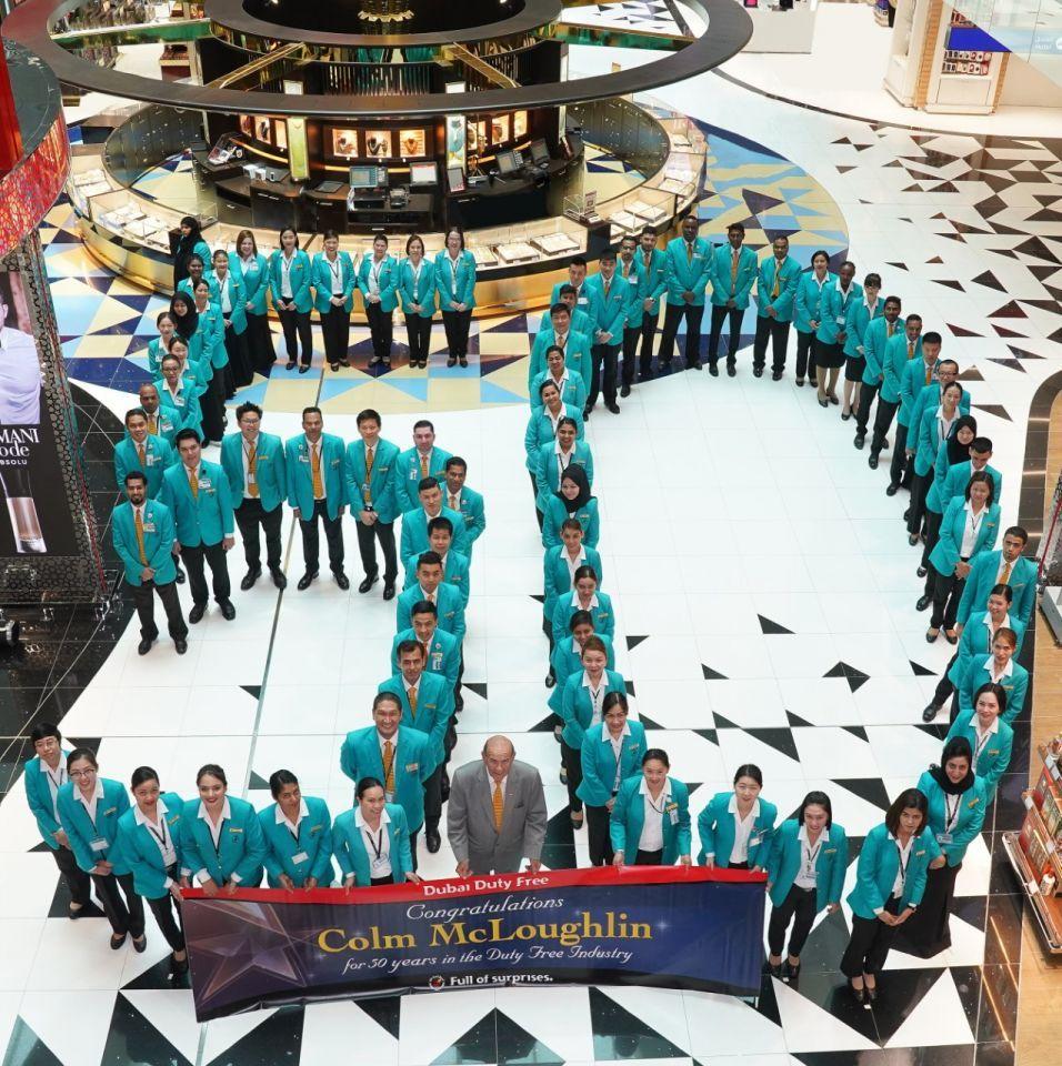 50 years on: Dubai's duty free legend Colm McLoughlin
