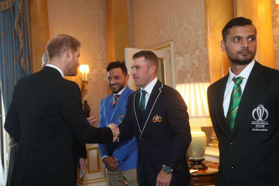 Gallery: World Cup captains meets Queen Elizabeth II and Prince Harry