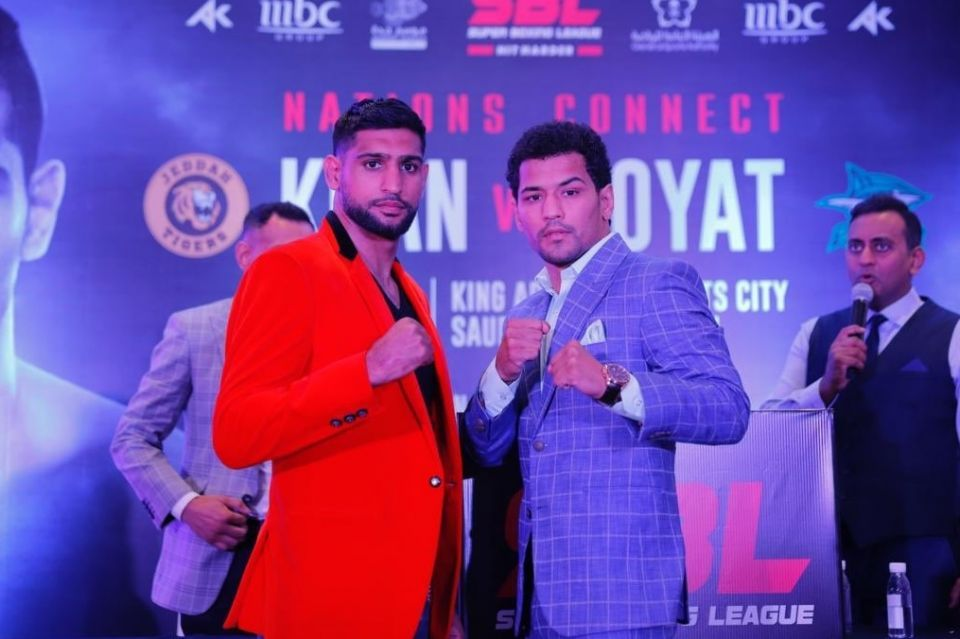 British boxer Amir Khan to stage fight in Saudi Arabia