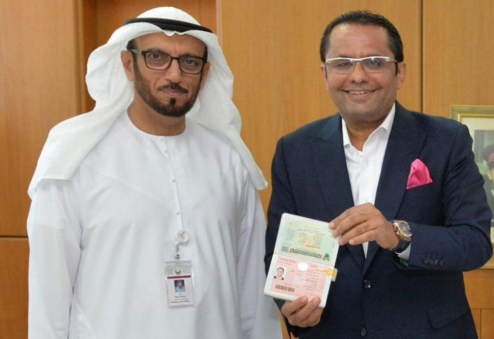 Danube Group founder Rizwan Sajan receives 10-year UAE residence visa
