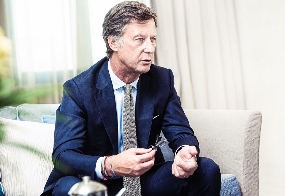 Rooms with a view: Accor CEO Sebastien Bazin