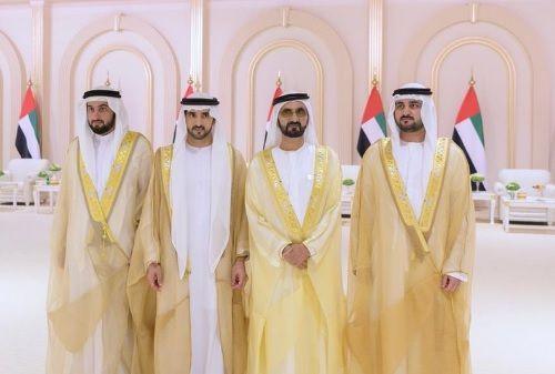 UAE celebrates wedding of Dubai ruler's sons