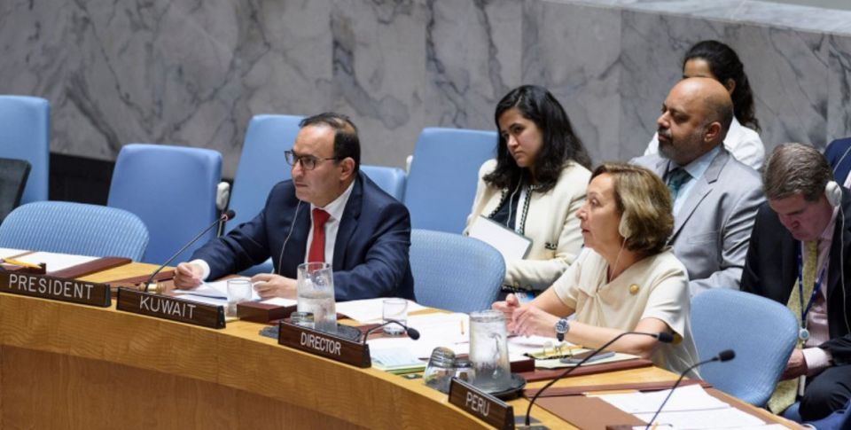 Kuwait calls for abstaining from vetoing humanitarian issues