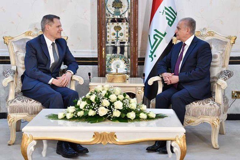 New US ambassador meets with Iraqi FM in Baghdad