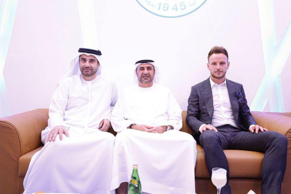 Gallery: Barcelona superstar Ivan Rakitic visits Dubai's Al Nasr FC