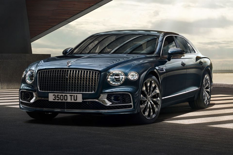 Gallery: Bentley unveiled its new-generation Flying Spur luxury limousine