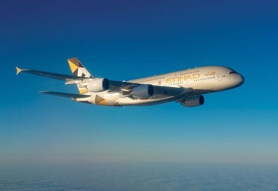 Etihad warns of delays after suspending flights through Iranian airspace