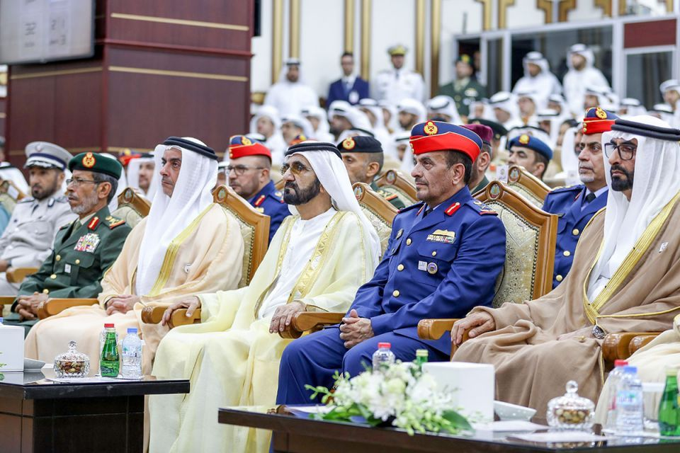 Gallery: Dubai Ruler attends National Defence College graduation in Abu Dhabi