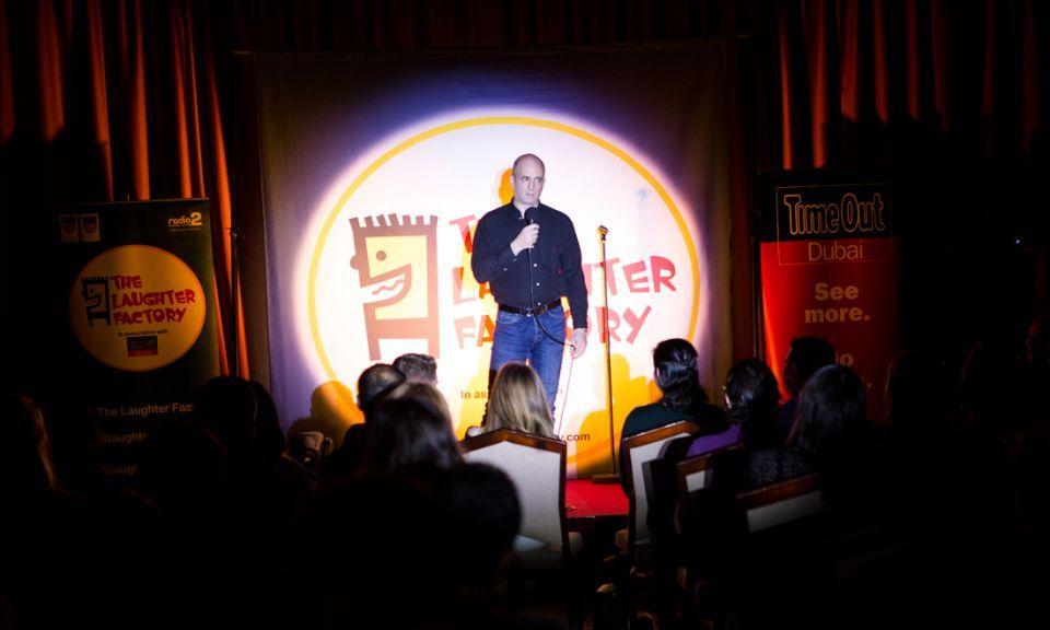 Dubai's Laughter Factory eyes future Saudi comedy events