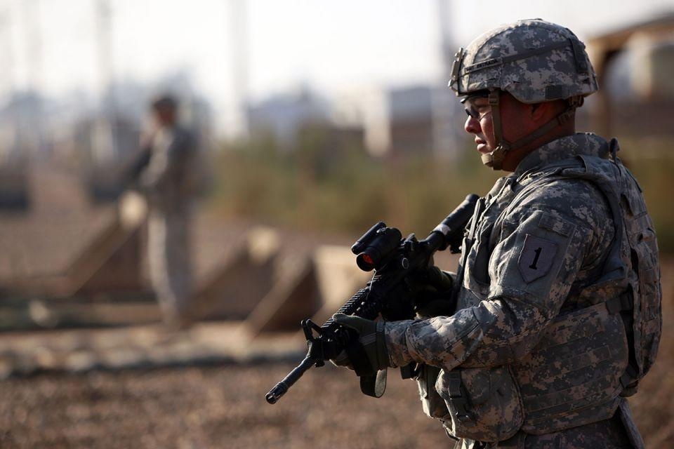 What happens in the event of a US withdrawal from Iraq?