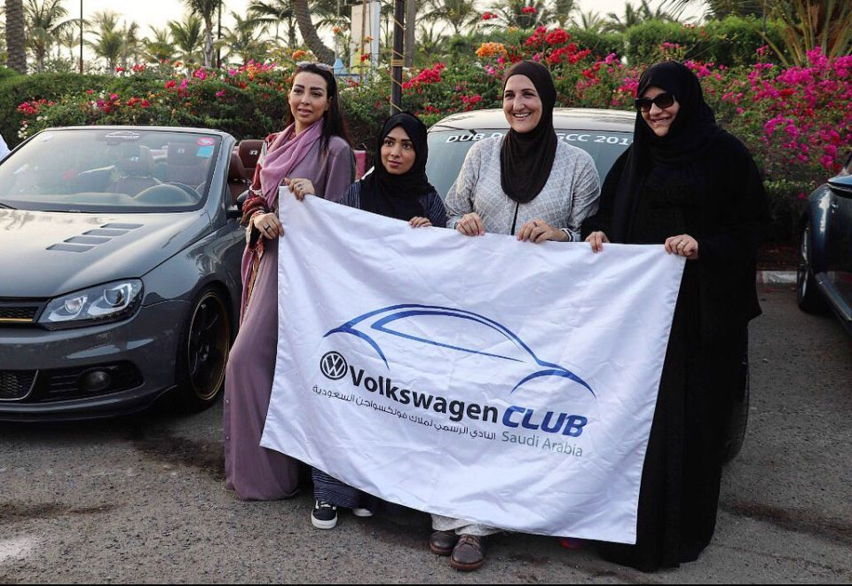 Women's car club launched in Saudi Arabia
