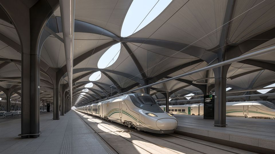 Gallery: Saudi's Haramain high-speed railway stations